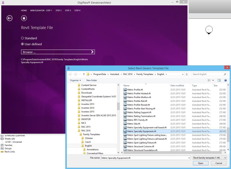 Autodesk Revit Template File