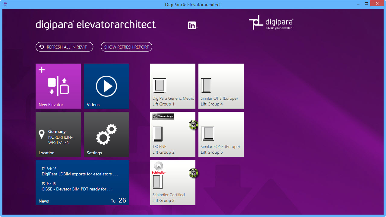 Installed Elevators Overview