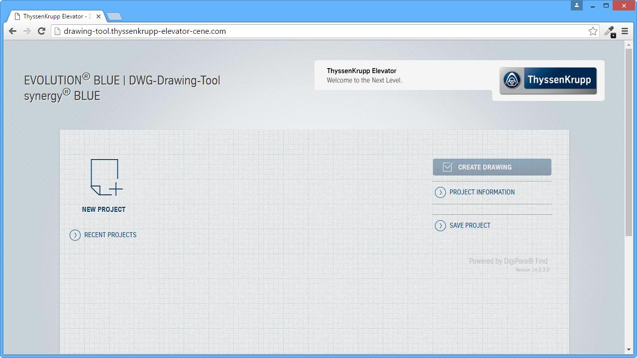 Web Configurator - Start