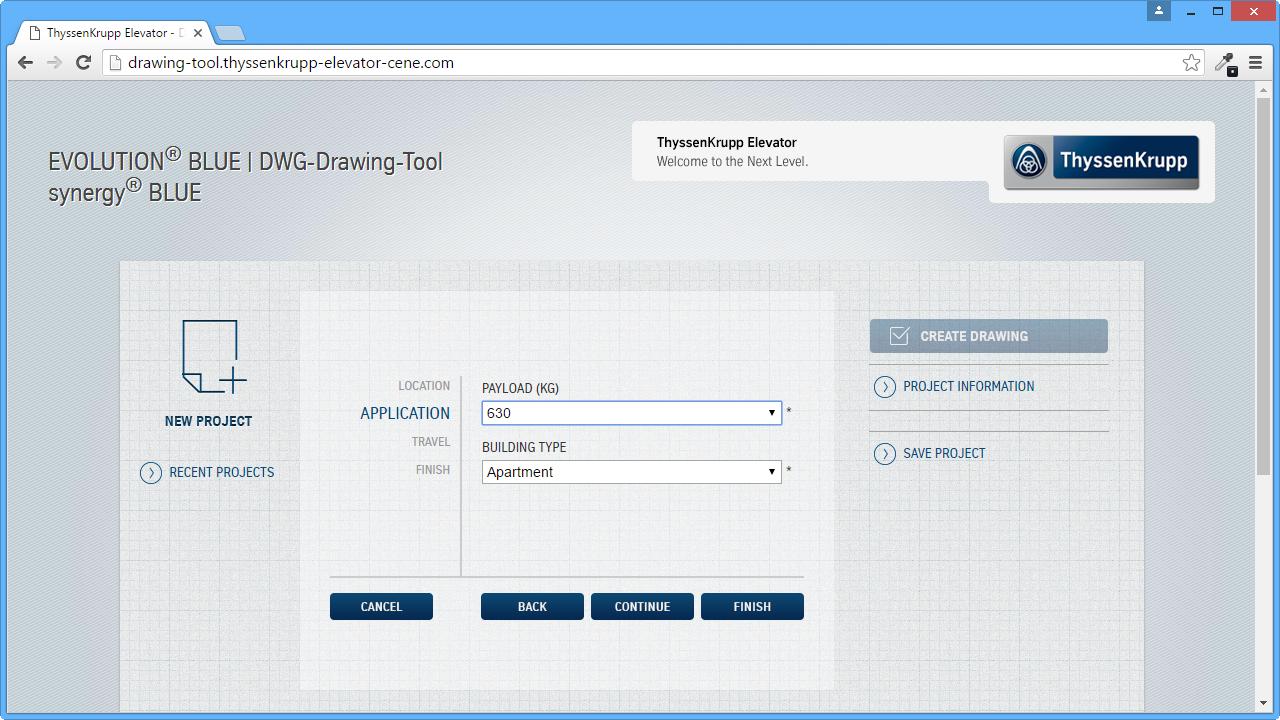 Web Configurator - Application