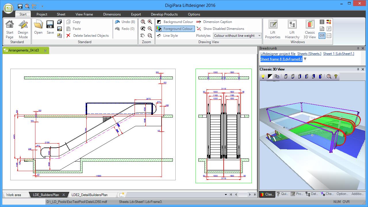 DigiPara® Escalatordesigner