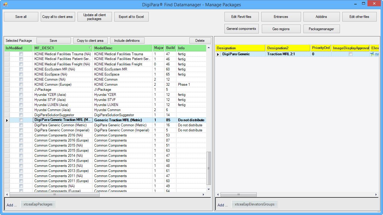 DigiPara® Find Datamanager