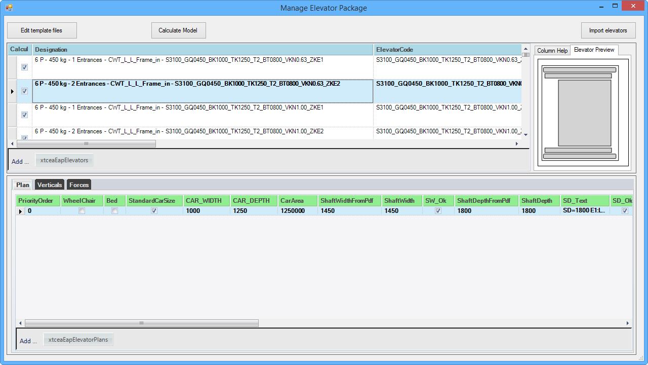 DigiPara® Find Datamanager - Elevator Packages