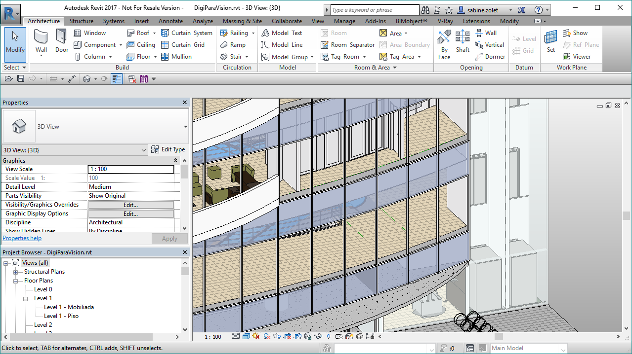 New for architects: Schindler 3100 as 3D BIM within DigiPara
