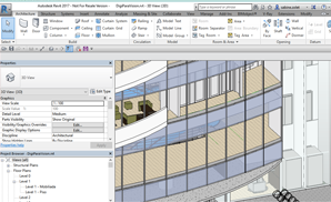 New for architects: Schindler 3100 as 3D BIM within DigiPara® Elevatorarchitect