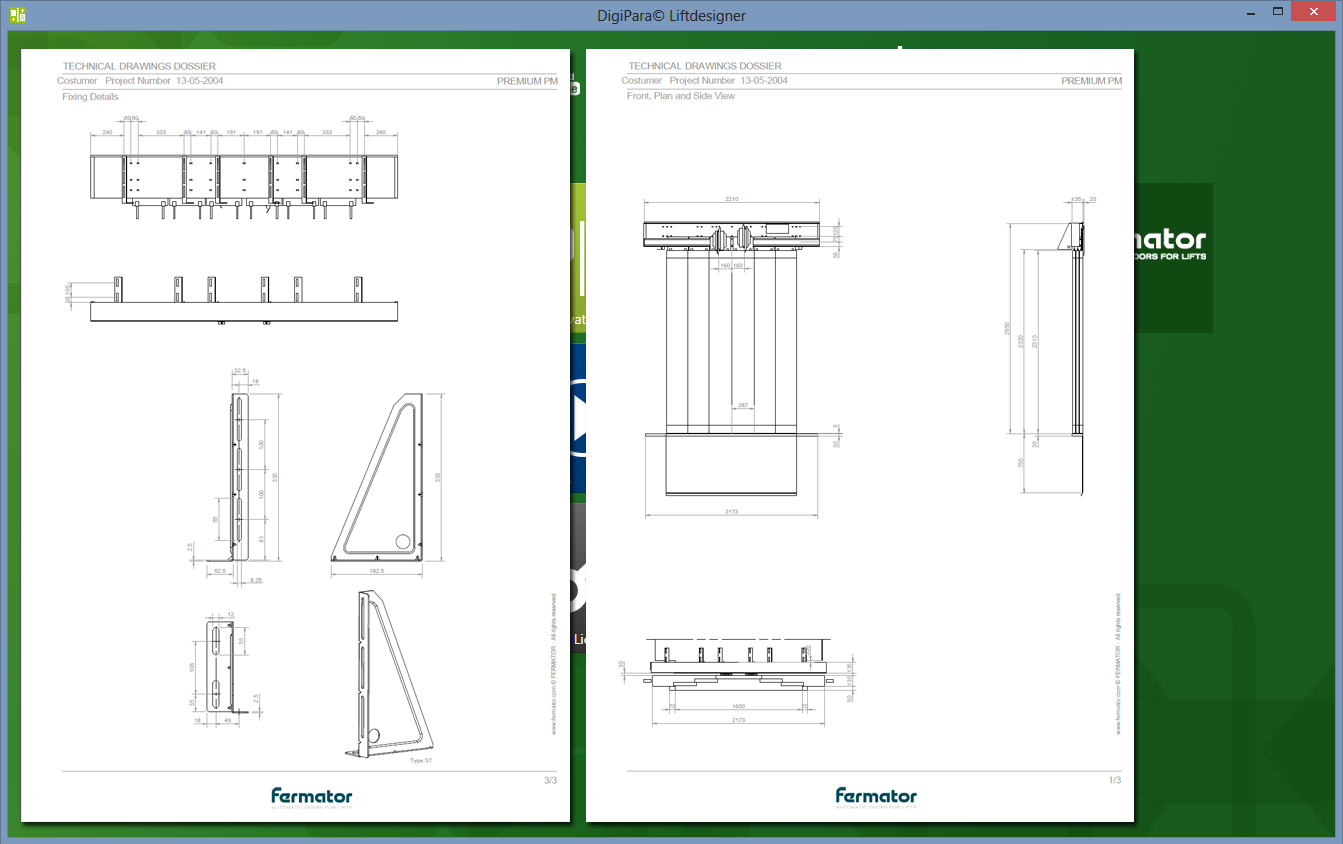 Free fermator door configurator for any cad system within for Free online cad system