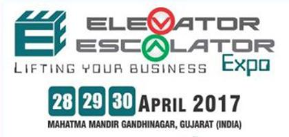 DigiPara at the Elevator Escalator Expo 2017,  Gandhinagar, India