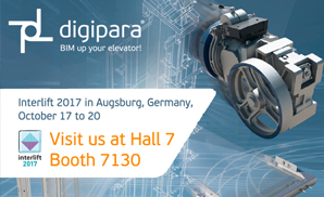 We are at the Interlift 2017 in Augsburg