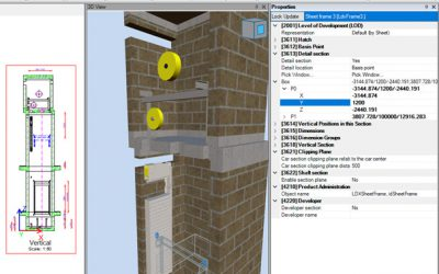 Real Sections within DigiPara Liftdesigner