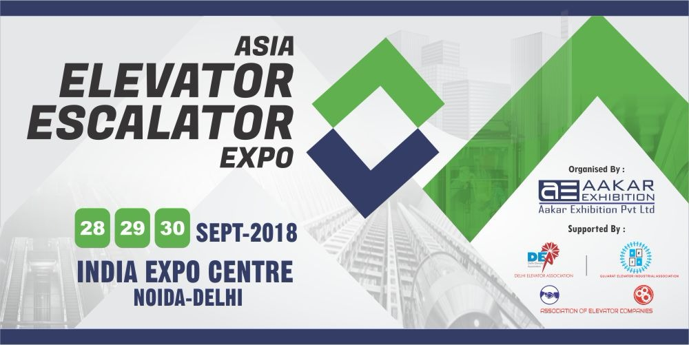 DigiPara at the Asia Elevator Escalator Expo, Noida, Delhi, India