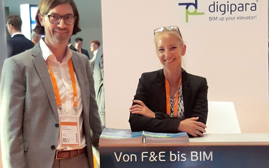 A successful presentation: DigiPara at the E2 Forum Frankfurt