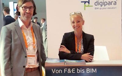 A successful presentation: DigiPara at the E2 Forum Frankfurt