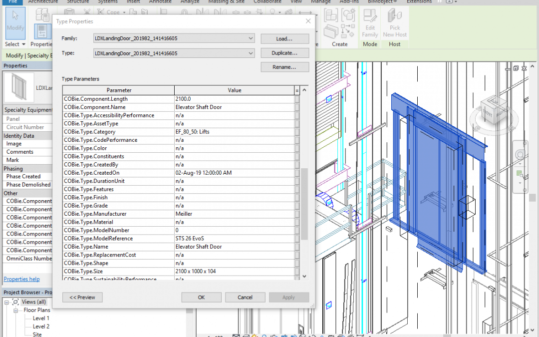 DigiPara – LDBIM file format adds Level of Information (LOI)