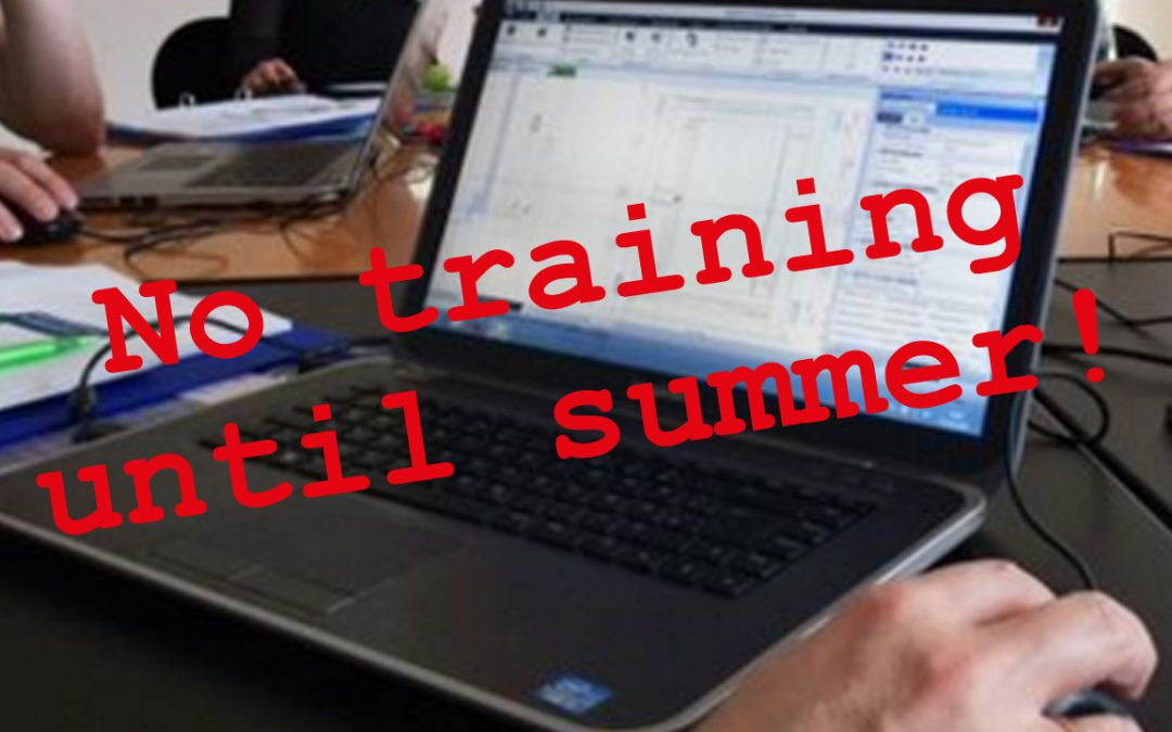 No DigiPara Liftdesigner Training until summer due to the Corona Virus