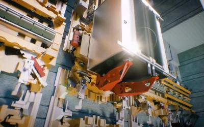 Automatic BIM-models for innovative tke-MULTI elevator
